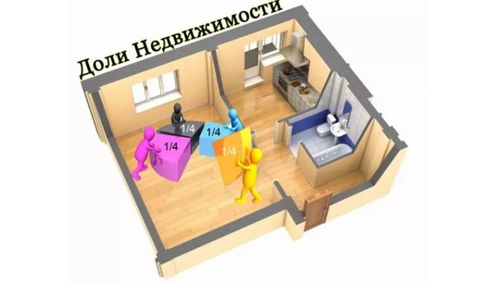 1 2 доля квартиры